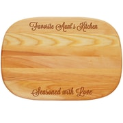 Carved Solutions Everyday ''Favorite Aunt's Kitchen'' Cutting Board