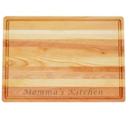 Carved Solutions Master ''Momma's Kitchen'' Cutting Board; Large