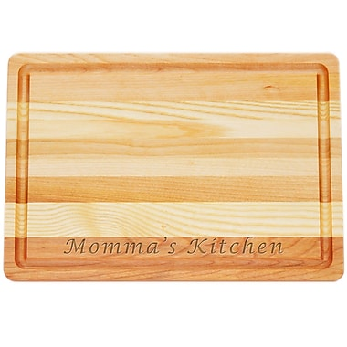 Carved Solutions Master ''Momma's Kitchen'' Cutting Board; Medium