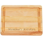 Carved Solutions Master ''Momma's Kitchen'' Cutting Board; Small