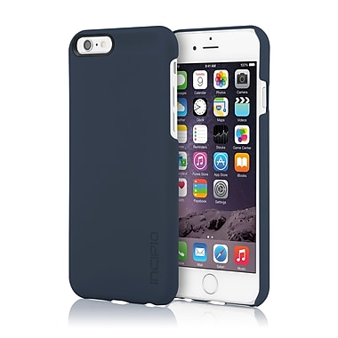 Incipio - Étui Feather ultra-mince à enclenchement pour iPhone 6, bleu marine, (IPH1177NVY)