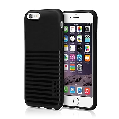 Incipio - Étui Rival transparent co-moulé pour iPhone 6 - noir translucide, (IPH1182BLK)