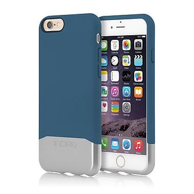 Incipio - Coque rigide coulissante au fini chromé Edge pour iPhone 6 - bleu/argent (IPH1188BLUSLVR)