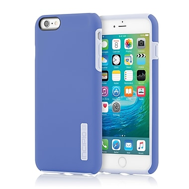 Incipio DualPro Hard-Shell Case with Impact- Absorbing Core for iPhone 6 Plus, Periwinkle/Haze Blue, (IPH1195PERBLU)