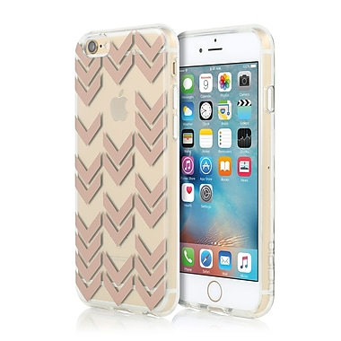 Incipio - Étui Isla Design Series pour iPhone 6/6s, motif Aria, or rose, (IPH1376RSGLD)