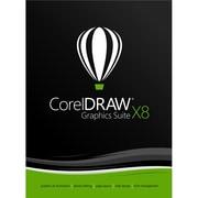CorelDRAW – Mise à niveau du logiciel de conception graphique Graphics Suite X8 pour Windows (1 utilisateur) (téléchargement)