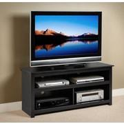 PrepacMC – Meuble pour téléviseur Vasari pour téléviseur à écran plat plasma/ACL de 50 po, noir