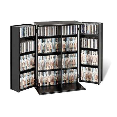 Prepac™ Locking Media Storage Cabinet, Black