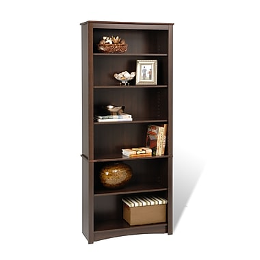 Prepac™ 6 Shelf Bookcase, Espresso