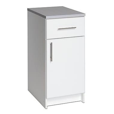 PrepacMC – Armoire sur le plancher Elite, 36 x 16 po, blanc