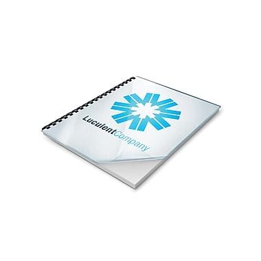 Staples® - Couvertures de présentation Clear View, paq./100
