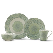 222 Fifth Lyria 16 Piece Dinnerware Set, Service for 4