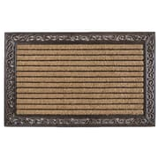 A1 Home Collections LLC Striped Double Doormat