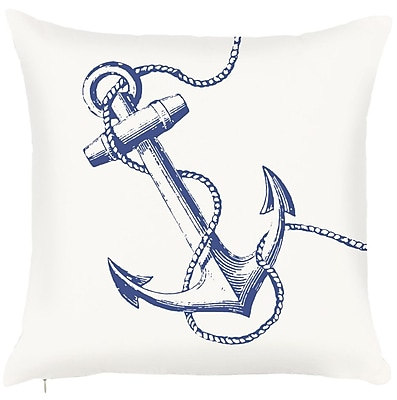 Debage Inc. Costal Anchor Throw Pillow