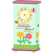 Imagine Design Treasured Times Treasure Your Heart Christian Clock