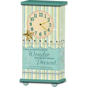 Imagine Design Treasured Times Wonder/Present Christian Clock