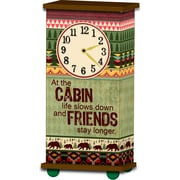 Imagine Design Treasured Times Cabin General Clock