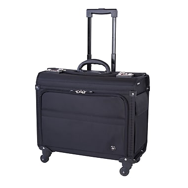 Swiss Gear (SWA5151) Black Label Litigation Case with Spin 360 4-Wheel System, Fits 15.6