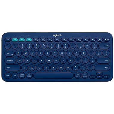 Logitech 920-007559 K380 Multi-Device Bluetooth Keyboard, Blue