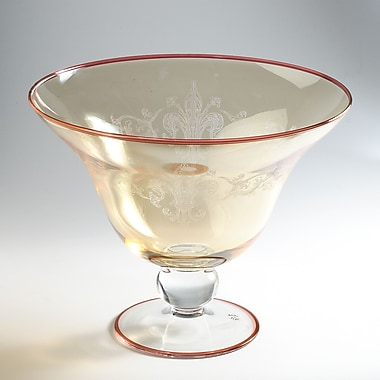 Intrada Vetro Footed Bowl; Large