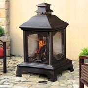 Sunjoy Harrison Steel Wood Burning Pagoda