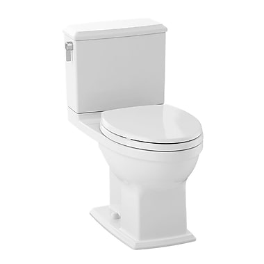Toto Connelly 1.28 GPF Elongated Two-Piece Toilet; Cotton White