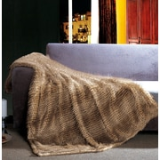 The St. Pierre Home Fashion Collection Exotic Faux Fur Throw