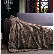 The St. Pierre Home Fashion Collection Russian Sable Faux Fur Throw