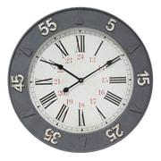 Metal 24 Hour Clock