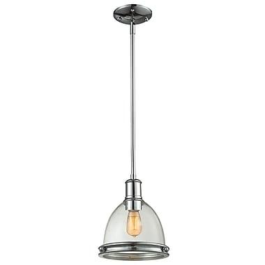 Z-Lite – Luminaire suspendu Mason 719MP-3CH pour îlot/table de billard, 3 amp., verre puceux transparent
