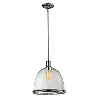 Z-Lite – Luminaire suspendu Mason 719P13-3CH pour îlot/table de billard, 3 amp., verre puceux transparent