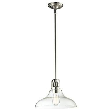 Z-Lite 320-13MP-3BN Forge Island/Billiard, 3 Bulb, Clear Glass