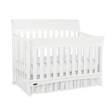 Graco Rory Convertible Crib, White, (AD904540-461)