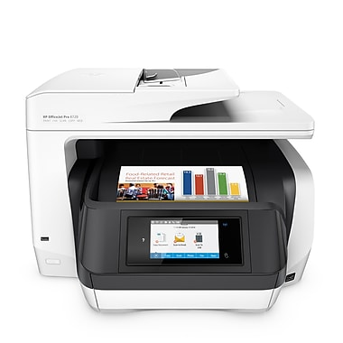 HP® Officejet Pro 8720 All-in-One Wireless Duplex Colour Inkjet Printer (M9L75A#B1H)