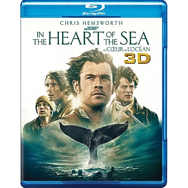 In The Heart of the Sea (3D Blu-ray/Blu-ray/DVD)
