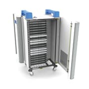 UniCabby 20H Laptop/Chromebook/Tablet Charging Cart, 20 H USA , Blue