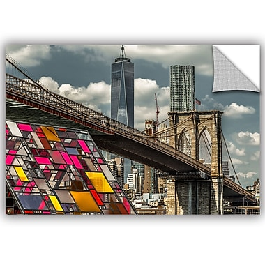 ArtWall Richard James BB and Colorhouse Wall Mural; 32'' H x 48'' W