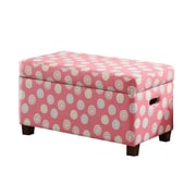 HomePop Deluxe Upholstered Kids Bench w/ Storage