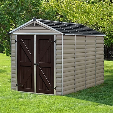 Palram SkyLight? 6 ft. 1 in. W x 9 ft. 11 in. D Plastic Storage Shed