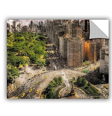 ArtWall Richard James Above Columbus Circle I Wall Mural; 24'' H x 32'' W