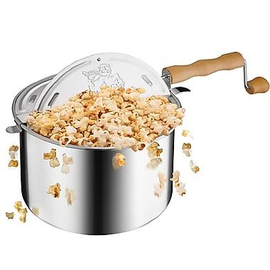 Great Northern Popcorn 6.5 Qt. Popcorn Popper; Aluminum
