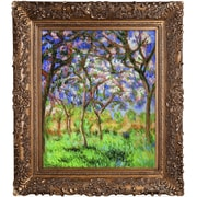 Tori Home 'Giverny in Springtime' by Claude Monet Framed Oil Painting Print on Canvas