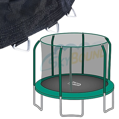 SKYBOUND 15' Bounce Pro Top Ring Net and Mat Premium Combo