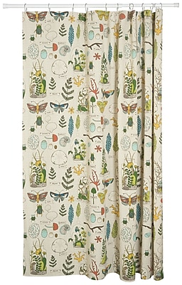 Danica Studio Ephemera 100pct Cotton Shower Curtain WYF078278692736