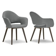 Glamour Home Decor Arm Chair (Set of 2)