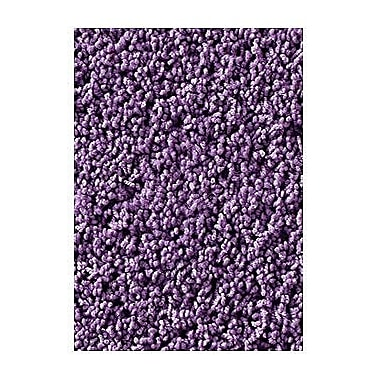 Carpets for Kids Soft Solids KIDply Lilac Area Rug; 8'4'' x 12'