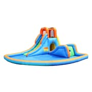 Bounceland Cascade Inflatable Water Slides w/ Large Pool