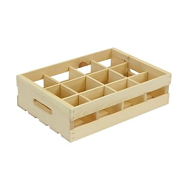 Crates & Pallet 12 Grid Divided Insert