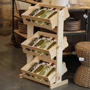 Crates & Pallet 3 Tier Crate Stand; 36'' H x 21'' W x 12'' D