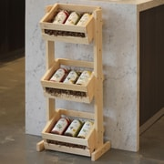 Crates & Pallet 3 Tier Crate Stand; 36'' H x 15'' W x 10'' D
